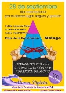 28 de septiembre: Día Internacional por el Aborto Legal, Seguro y Gratuito
