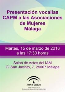 Presentación de vocalías del CAPM en Málaga