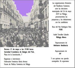 Presentación y Debate Manifiesto Feminista